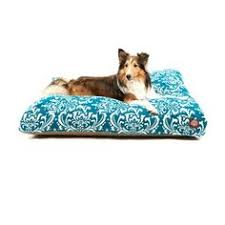 majestic pet sage vertical stripe rectangle dog bed by majestic