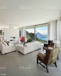 einrichtung moderne wohnzimmer stockfoto und mehr bilder architektur