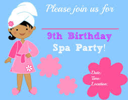 Fantastic Ideas For Hosting A Spa Birthday Party At Home This Post Includes Free Printable Invites And Thank You Notes Kids