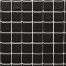 fliesen 18d 031110 matten keramikmosaik uni schwarz matt