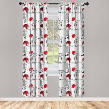 gardine fensterbehandlungen 2 panel set für wohnzimmer schlafzimmer dekor abakuhaus asiatisch moderne japanische kaufen otto