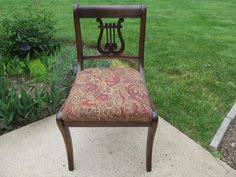 Lyre Back Chairs History by For Sale Duncan Phyfe Mahogany Side Table Harp Lyre At Both Ends