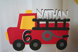 Birthday Cake Topper - Personalized Fire Truck, Fire Engine, Fireman ... Fisher Price Little People Red Fire Truck Engine Mcdonalds Toy S And Lunches Cake Topper Fondant Handmade Edible Large Jenn Cupcakes Muffins Birthday Wilton Fire Truck Engine Smash Cake Topper First Do You Know Devils Accomdates All Sorts Of Custom Requests Grooms The Hudson Cakery Small Scrumptions Custom Name Red Firetruck Birthday Etsy Ambulance Ambulance