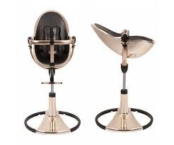 chaise b b volutive chaise haute fresco bloom mercury gold
