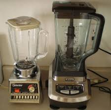Osterizer Pulse Matic 16 And The New Ninja Blender