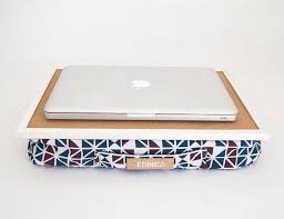 laptop tray with pillow eco friendly lap desk with pillow