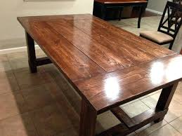Pine Dining Room Tables Decoration Rustic Farmhouse Table Impressive Style