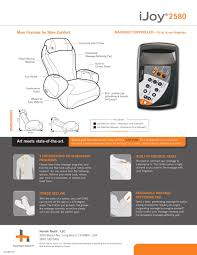 Ijoy 100 Massage Chair Manual by The Premium Robotic Human Touch Ijoy 2580 Massage Chair Is This