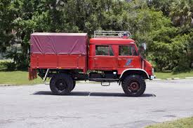 100 Unimog Truck 1968 MercedesBenz 404 Mountain Rescue Fire