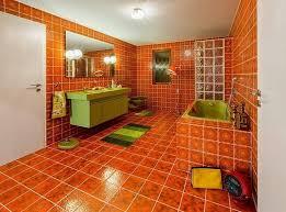 badezimmer braun orange badezimmer badezimmerbraunorange