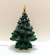 Vintage Ceramic Christmas Tree Miniature