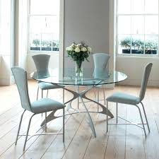 Glass Dinette Table Dining Room Round Sets Regarding Set Idea 13