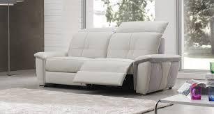 canapé relax 2 places électrique canape relax electrique italien maison design hosnya com