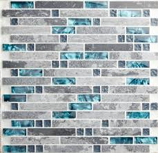 Gray And Aqua Bathroom by Best 25 Glass Tile Bathroom Ideas On Pinterest Master Shower