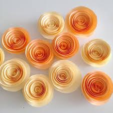 Cool DIY Paper Flower Garland With Amazing Orange
