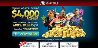 Silver Oak Online Casino - #1 Review - 400% Bonus - USA Accepted! Top No Deposit Casino Mobile For 2019 Silver Oak Online Bonus Masterpiece Studio Roaring 21 Detailed Review Code And Rich Casino No Deposit Bonus Codes 25 Free Spins Codes 365 Roulette Royal Ace Casinobonusclub Best Five No Deposit Bonus Codes Mobile Tablet Payout Online Casino Coupon Kamus Free On Pandas Onbling Double Down Slots Poker