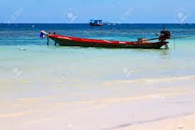 100 Playa Blanca Asia En La Playa Blanca De La Isla De La Baha Del Kho Tao Oscila El Barco De La Casa En Tailandia Y El Mar Del Sur De China