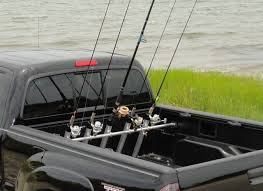 100 Car With Truck Bed Inshore Fishing Rod Rack Pressure Mount Holds Up To 5