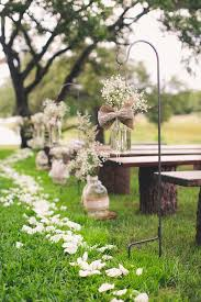 Rustic Wedding Aisle Decorations 40
