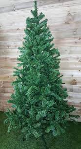 8ft Artificial Christmas Trees Uk by 7ft Green Artificial Colorado Spruce Christmas Xmas Tree 210cm