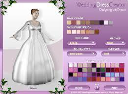 design your own wedding dress online game