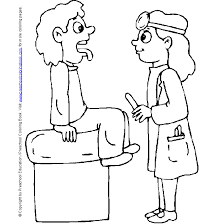 Doctor Hospital Coloring Page 17