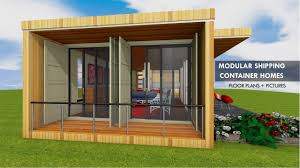 100 Prefabricated Shipping Container Homes Prefab Module For Open Plan Living Space By