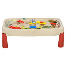 Step2 Furniture Toys by Step2 Deluxe Canyon Road Train U0026 Track Table With Lid Target