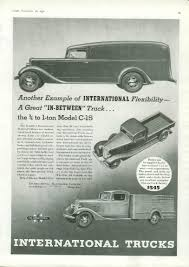 1936 International C-15 - Information And Photos - MOMENTcar
