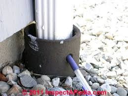 Perforated Drain Tile Pipe by Buried Downspouts U0026 Underground Drains For Roof Runoff