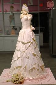 Life size Wedding Dress Cake Food Network  Wedding Cakes