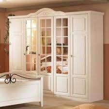 schlafzimmerschrank aus pinie massivholz mit spiegeltüren
