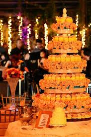 Cupcake Wedding Cakes Orange Cupcakes Original Cake