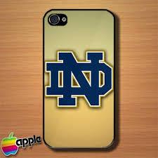 Notre Dame Fighting Irish Logo Custom iPhone 4 or 4S Case Cover