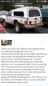 How Hawaiian Locals Sell Car Merchandise On Craigslist : Hawaii Craigslist Find Of The Week Page 12 Ford Truck Enthusiasts Forums My Manipulated That I Call Mikeslist Ciason40 Econoline Pickup 1961 1967 For Sale In Hawaii Tough Love Dad Puts Disrespectful Sons Suv On 20 Inspirational Images Oahu Cars And Trucks New Food Truck For Sale Craigslist Youtube In Arizona Does 2003 Chevy Mean Mexican Drug Runner Amazoncom Undcover Fx11018 Flex Hard Folding Bed Cover Best Of Photo Org Dallas 200 59 Chevy 4 Speed Stepside Apache Cheap Funny Deals Staples Coupon 73144