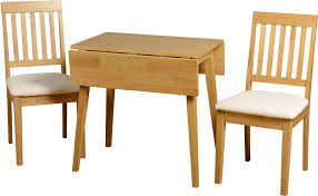 Kitchen Table Sets Ikea Uk by Home Design Alluring Small Drop Leaf Dining Table Set 2 Chairs