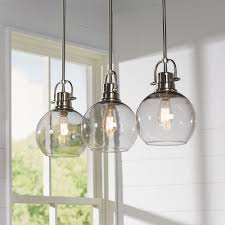 burner 3 light kitchen island pendant light spot