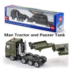 100 Toy Tanker Trucks SIKU 1872Diecast Metal Model187 Scale Man Platform Truck And