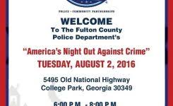 National Night Out Flyer Template Flyers For 2017 National Night intended for National Night Out Flyer