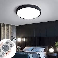 jinpiker 60w dimmbar led deckenleuchte runde einfach deckenleuchten für schlafzimmer küche flur balkon büro wohnzimmer deckenle