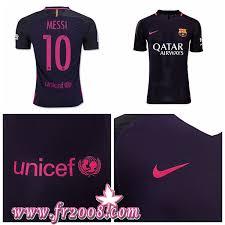 acheter maillots foot messi fc barcelone extérieur 2016 2017 pas
