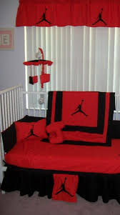 michael jordan crib bedding set your choice of new colors 300