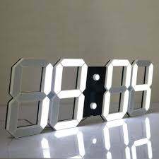CHIHAI Silent Multifunctional Jumbo LED Digital Wall Clock With Remote Control Large Calendar And Temperature Count Up Countdown Timer For