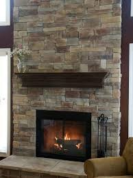 Image result for fireplace remodel stone over brick