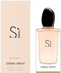 eau de toilette si armani giorgio armani si eau de parfums spray for 3 4