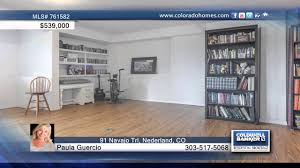 100 Homes For Sale In Nederland 91 Navajo Trl CO For Coloradohomescom YouTube