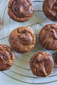 gesunde low carb muffins mit schokolade und erdnussmus
