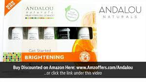 Andalou Naturals Glycolic Mask Pumpkin Honey by Andalou Naturals Brightening Kit Youtube