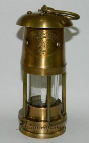 Antique Oil Lamps Ebay by Solid Brass Miner U0027s Oil Lamp 6