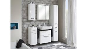 pelipal badezimmer fokus 5 tlg weiß hochglanz lack